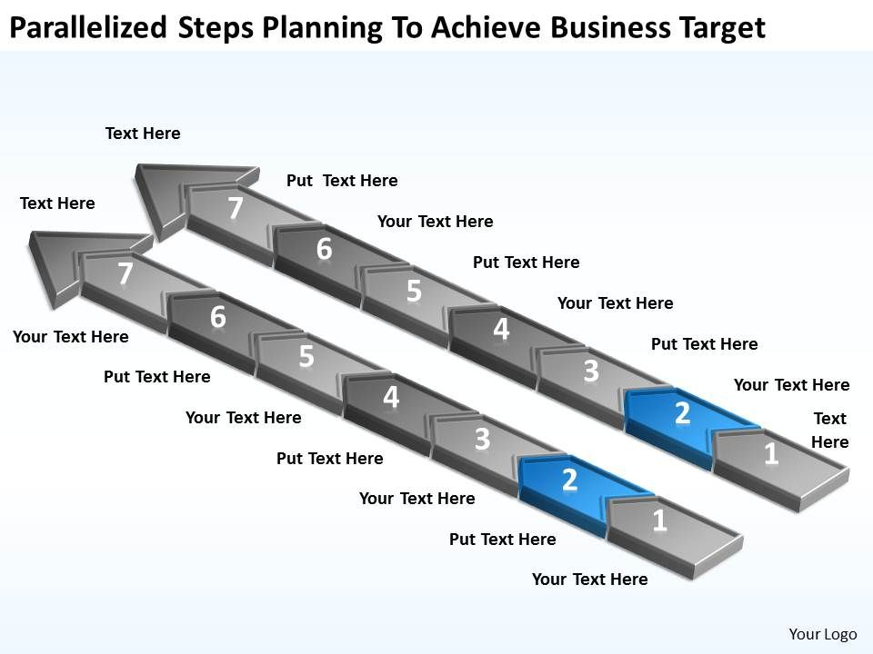 diagram_of_business_cycle_parallelized_steps_planning_to_achieve_target_powerpoint_slides_Slide03