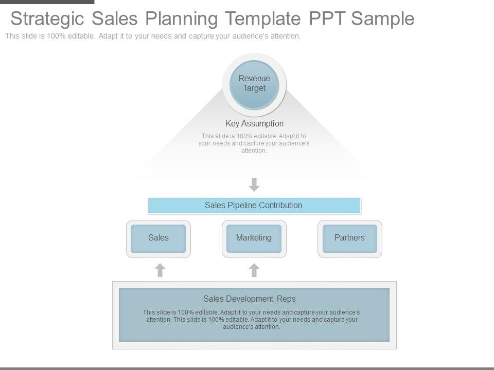 strategic sales planning