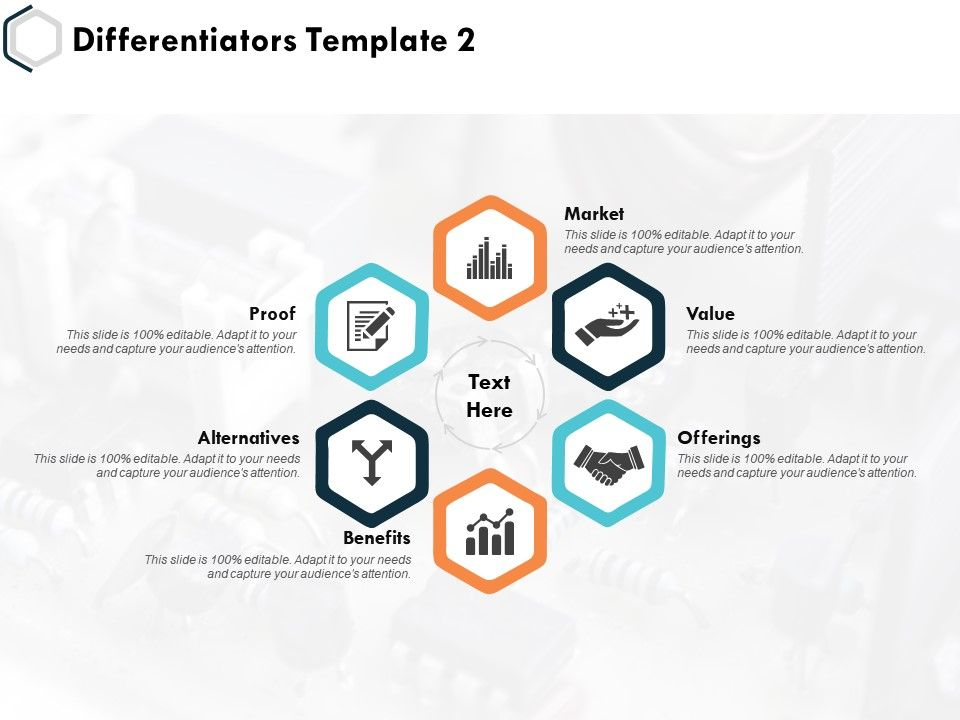 Differentiators Alternatives Offerings Ppt Powerpoint Presentation Slides Ideas