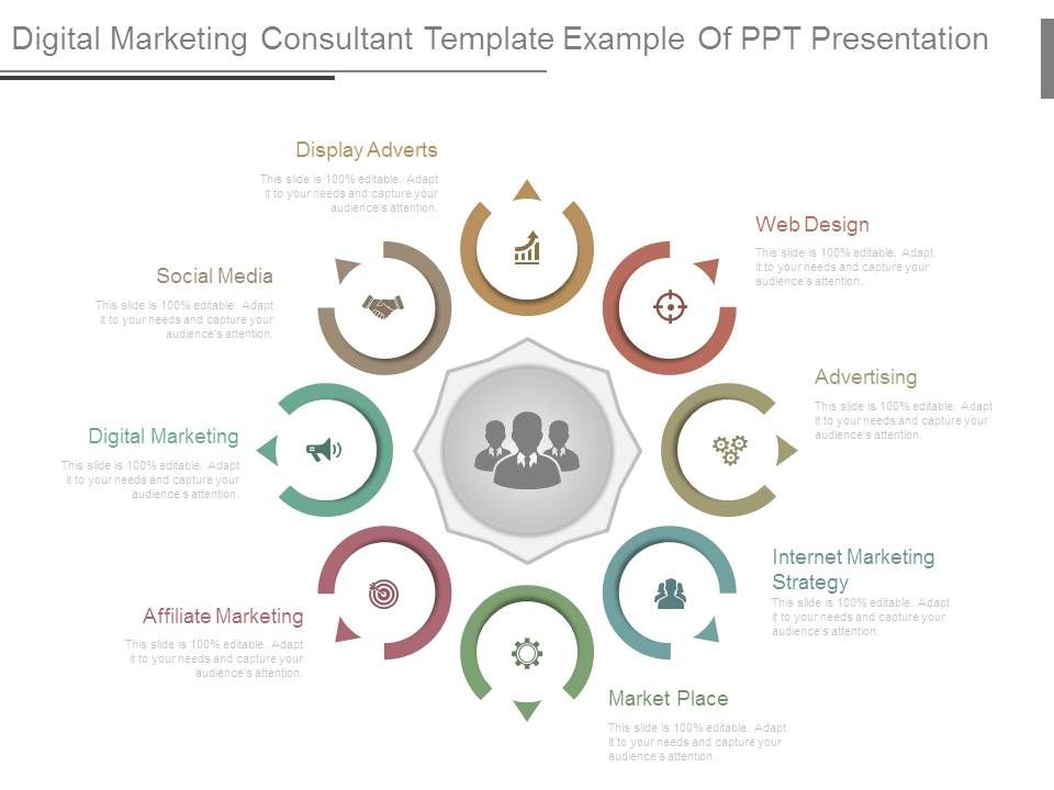 Digital Marketing Consultant Template Example Of Ppt Presentation ...