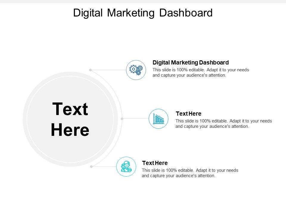 Digital Marketing Dashboard Ppt Powerpoint Presentation Portfolio Layout Cpb