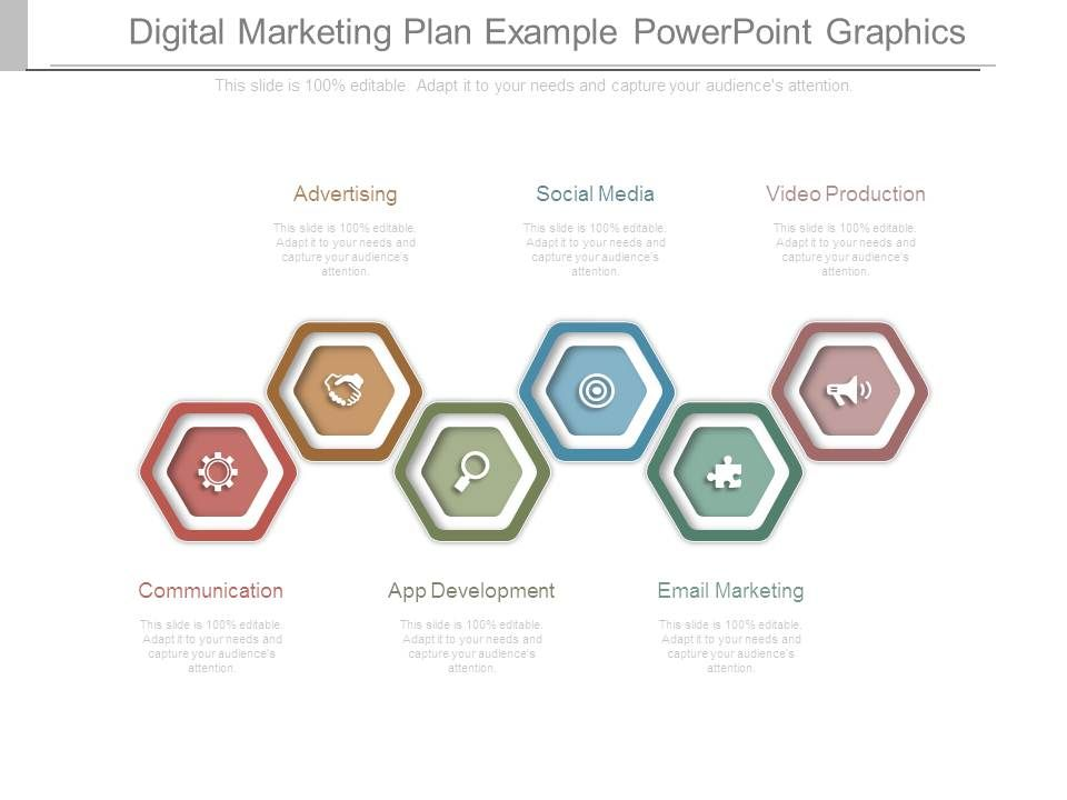 Digital Marketing Plan Example Powerpoint Graphics Powerpoint