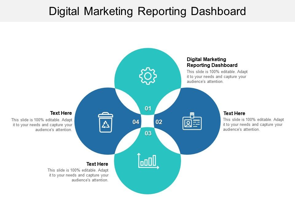 Digital Marketing Reporting Dashboard Ppt Powerpoint Presentation Icon Templates Cpb