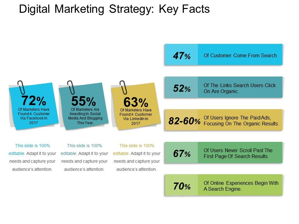 Digital Marketing Strategy Key Facts Powerpoint Layout Ppt ...