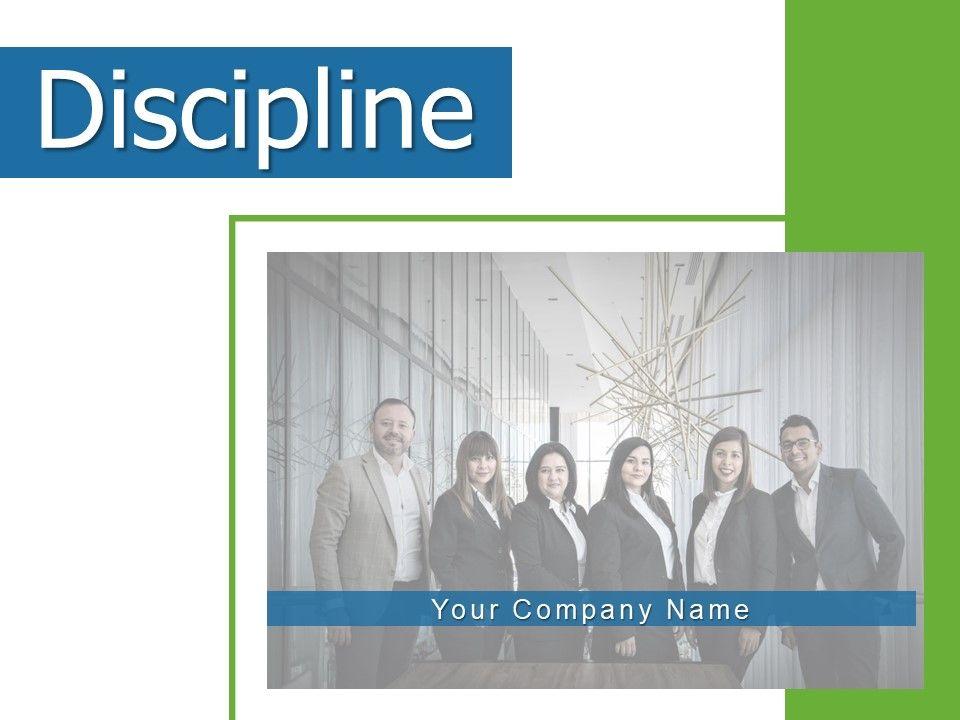 Discipline Employee Business Acceptance Persistence Management