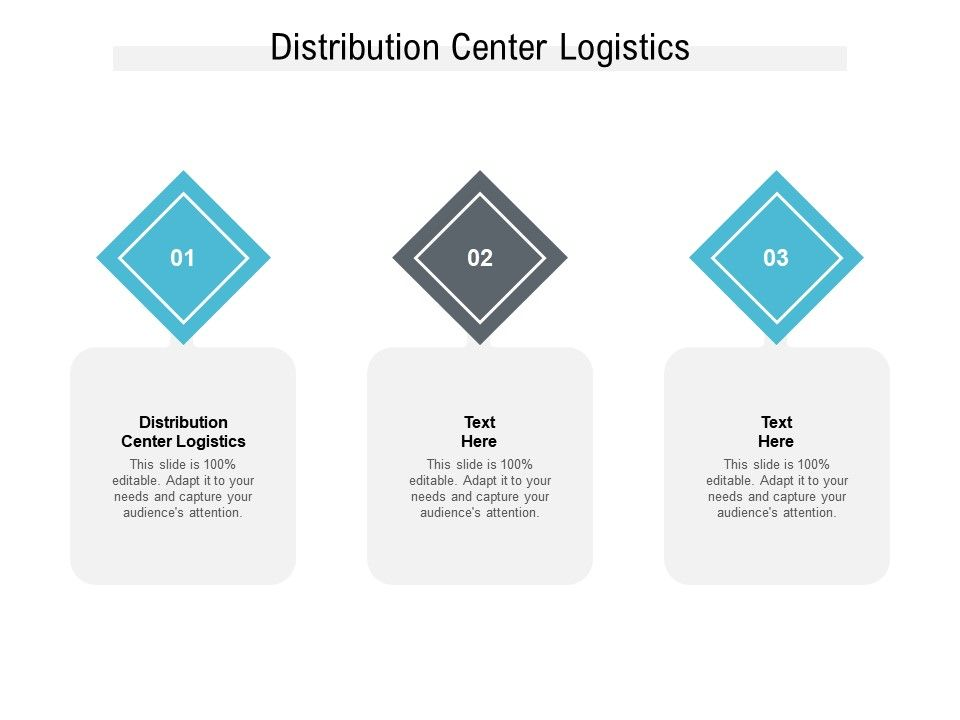 Distribution Center Logistics Ppt Powerpoint Presentation File Graphic Tips Cpb