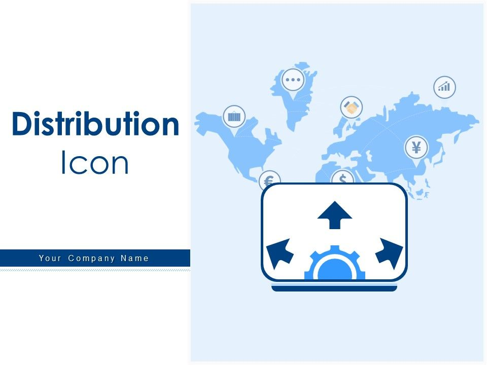 Distribution Icon Project Icons Gear Arrow Business Project Human Resource Marketing Location