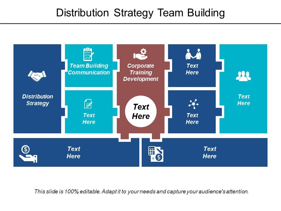 Distribution Strategy Team Building Communication Corporate Training