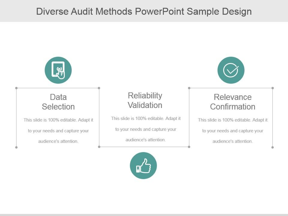 diverse_audit_methods_powerpoint_sample_design_Slide01