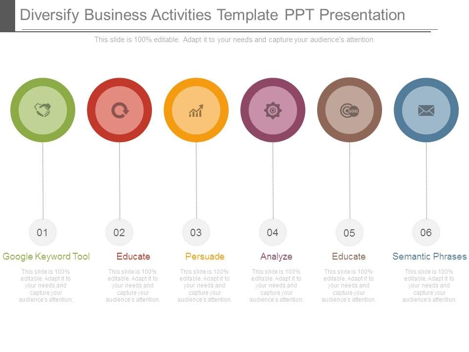 diversify_business_activities_template_ppt_presentation_Slide01