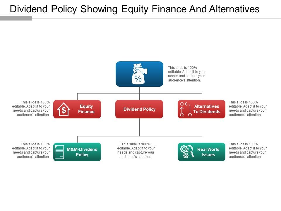 dividend_policy_showing_equity_finance_and_alternatives_Slide01