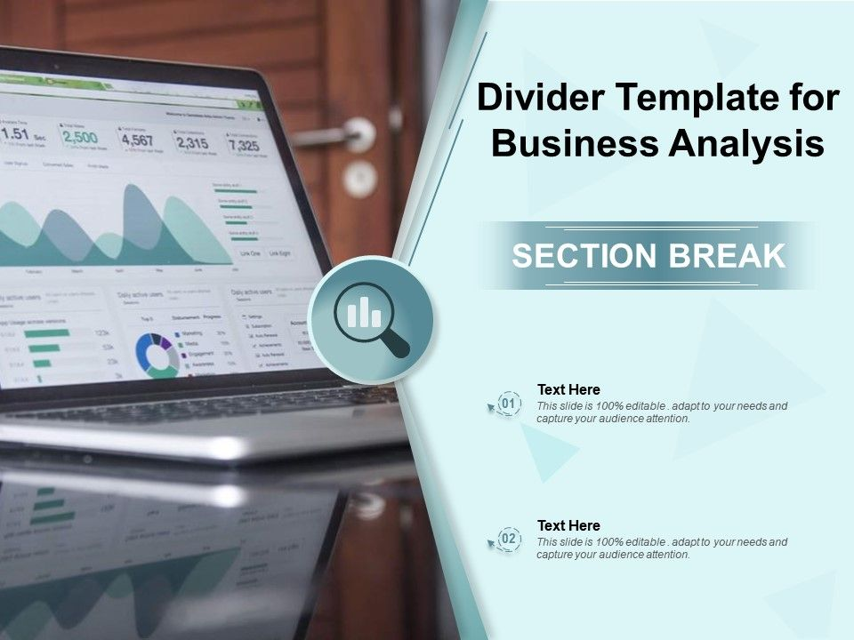 Divider Template For Business Analysis
