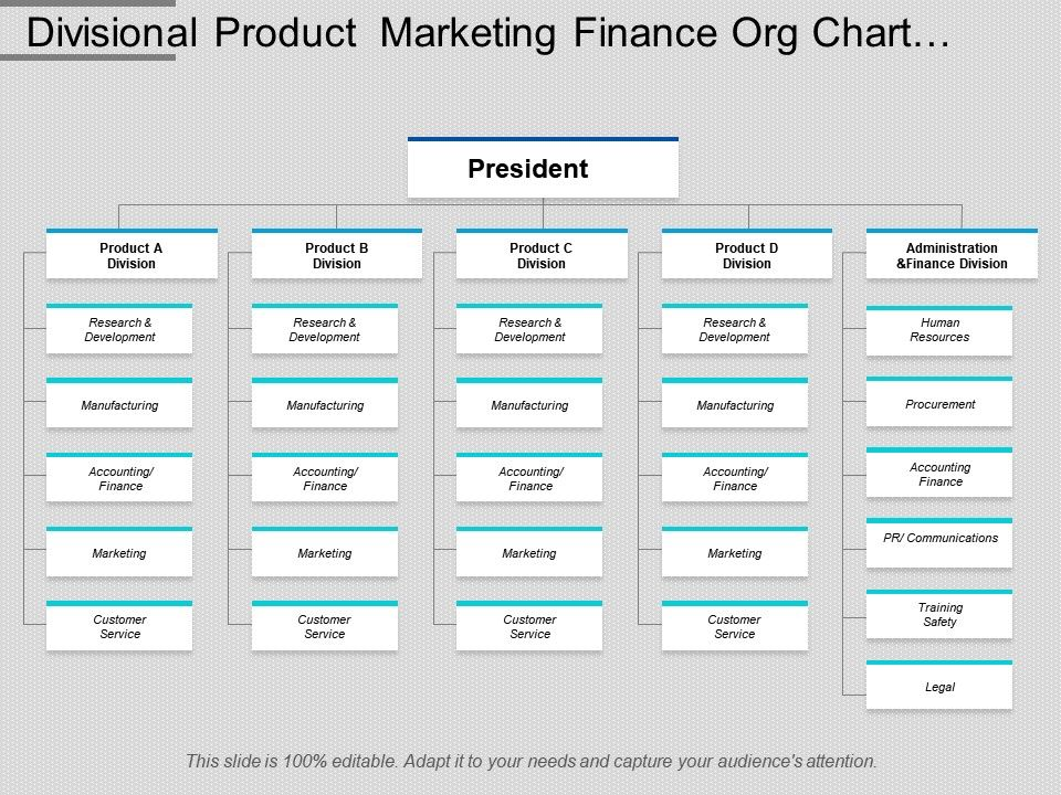 divisional_product_marketing_finance_org_chart_template_Slide01