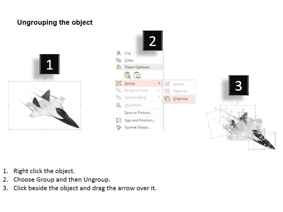 dm three jet fighter planes for air force powerpoint template