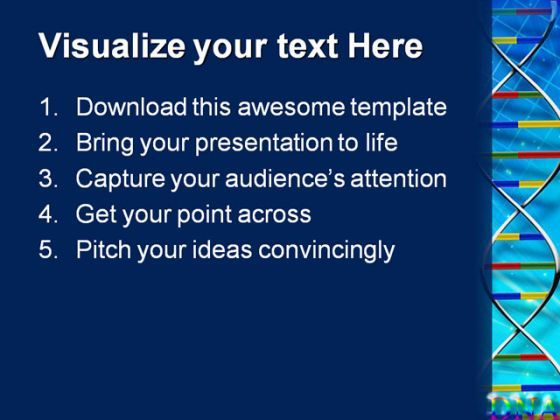 dna abstract science powerpoint templates and powerpoint, Presentation templates