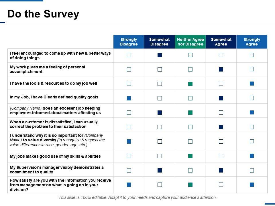 Do The Survey Business Ppt Infographics Slide Download