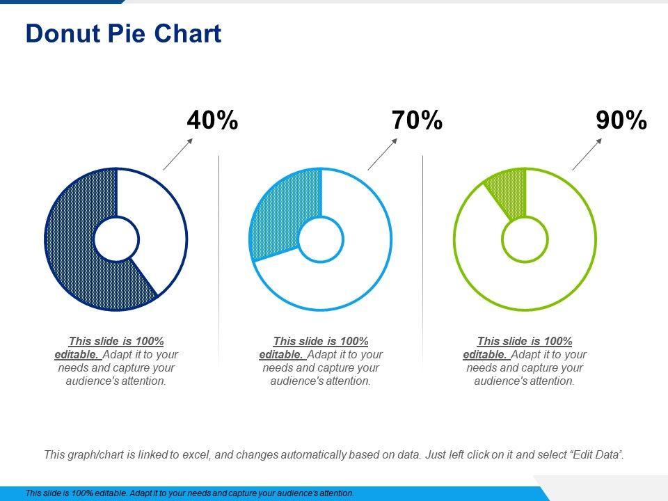 Donut Pie Chart Powerpoint Slide Information Templates Powerpoint