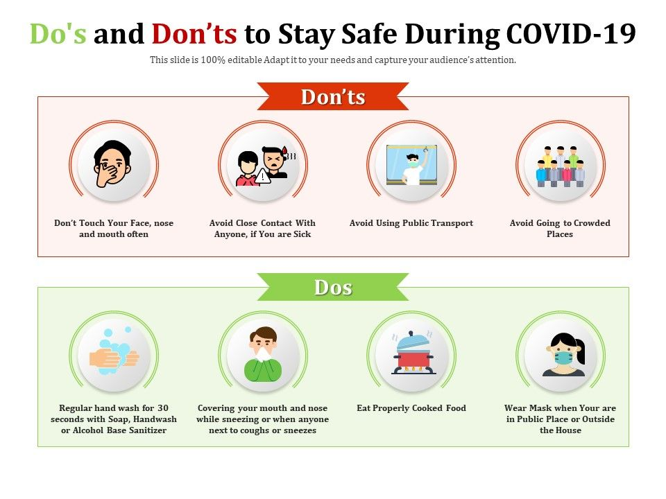 Dos And Donts To Stay Safe During Covid 19