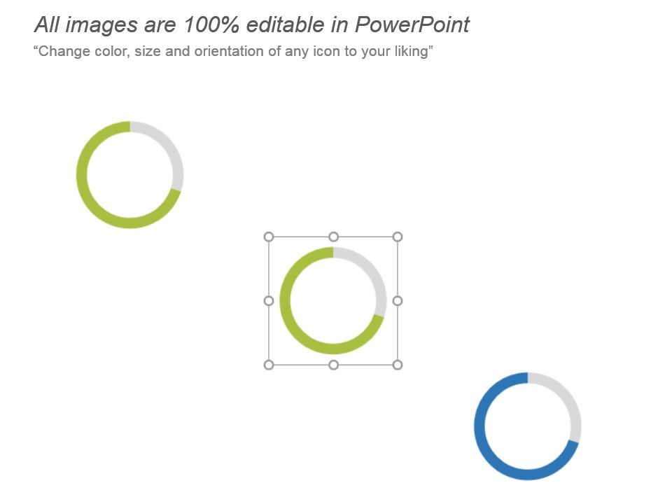 Doughnut Chart For Data Visualization Comparison Of
