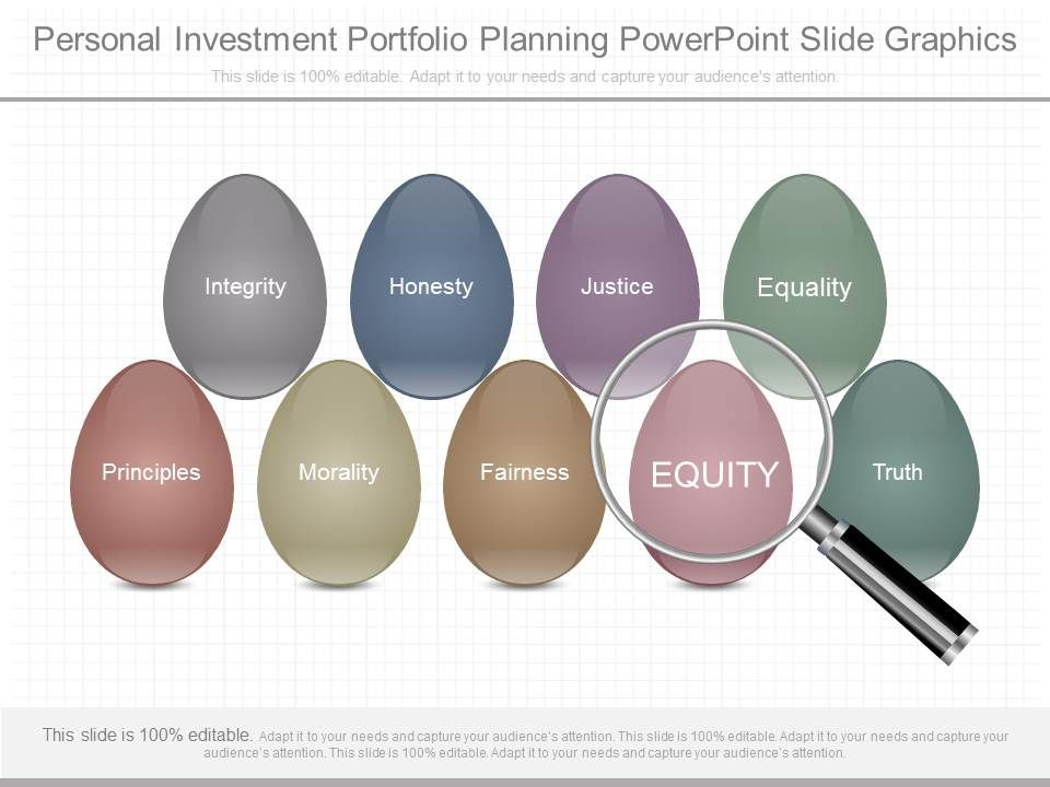 download personal investment portfolio planning powerpoint slide