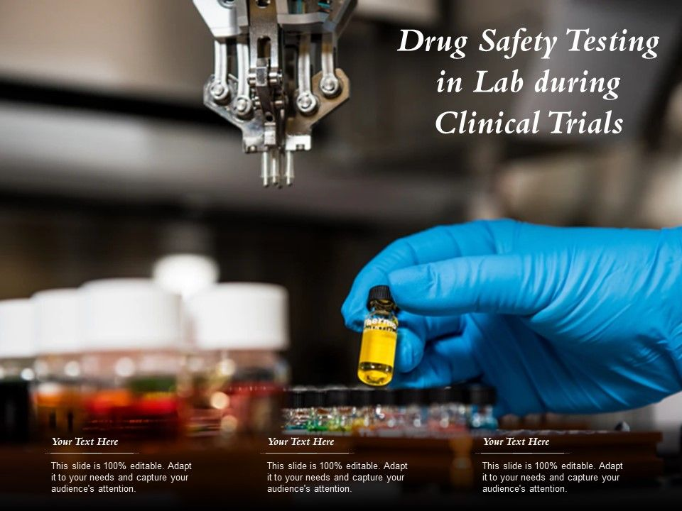 Drug Safety Testing In Lab During Clinical Trials