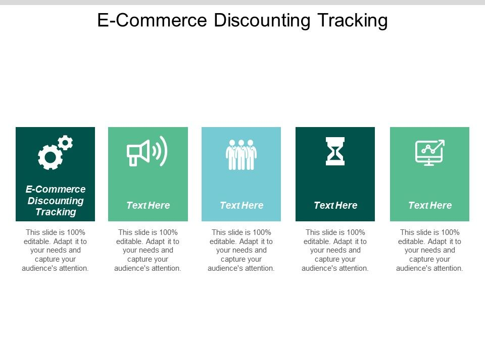 E Commerce Discounting Tracking Ppt Powerpoint Presentation Gallery