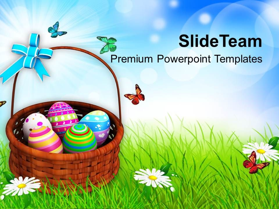 easter_egg_clipart_colorful_painted_eggs_basket_powerpoint_templates_ppt_backgrounds_for_slides_Slide01