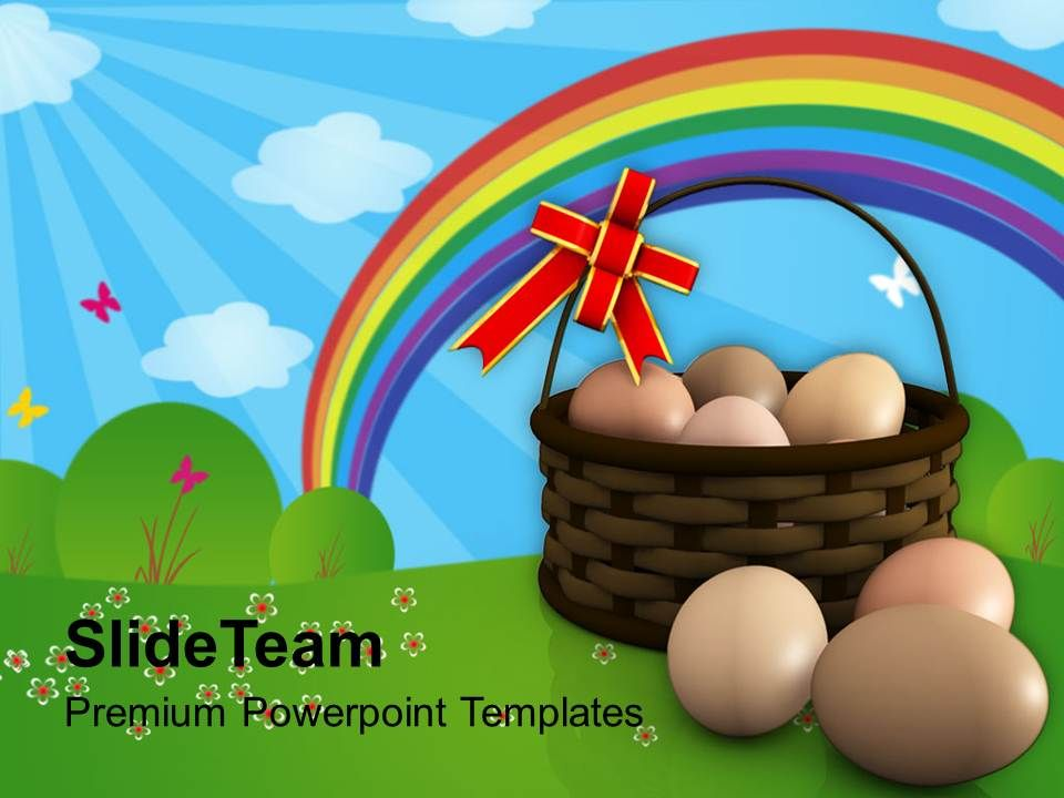easter_eggs_bunny_in_basket_symbolizes_new_life_powerpoint_templates_ppt_backgrounds_for_slides_Slide01