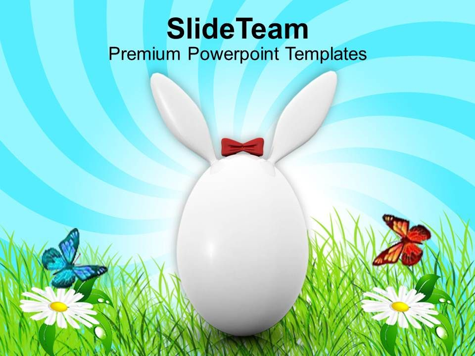 easter_eggs_bunny_white_symbol_of_day_holiday_powerpoint_templates_ppt_backgrounds_for_slides_Slide01