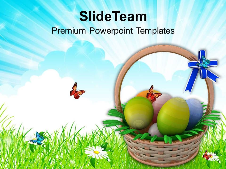 Easter holiday eggs basket to gift powerpoint templates ppt easterholidayeggsbaskettogiftpowerpointtemplatespptbackgroundsforslidesslide01 negle Image collections