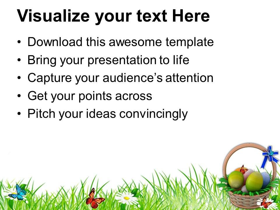 Easter holiday eggs basket to gift powerpoint templates ppt easterholidayeggsbaskettogiftpowerpointtemplatespptbackgroundsforslidesslide02 negle Image collections