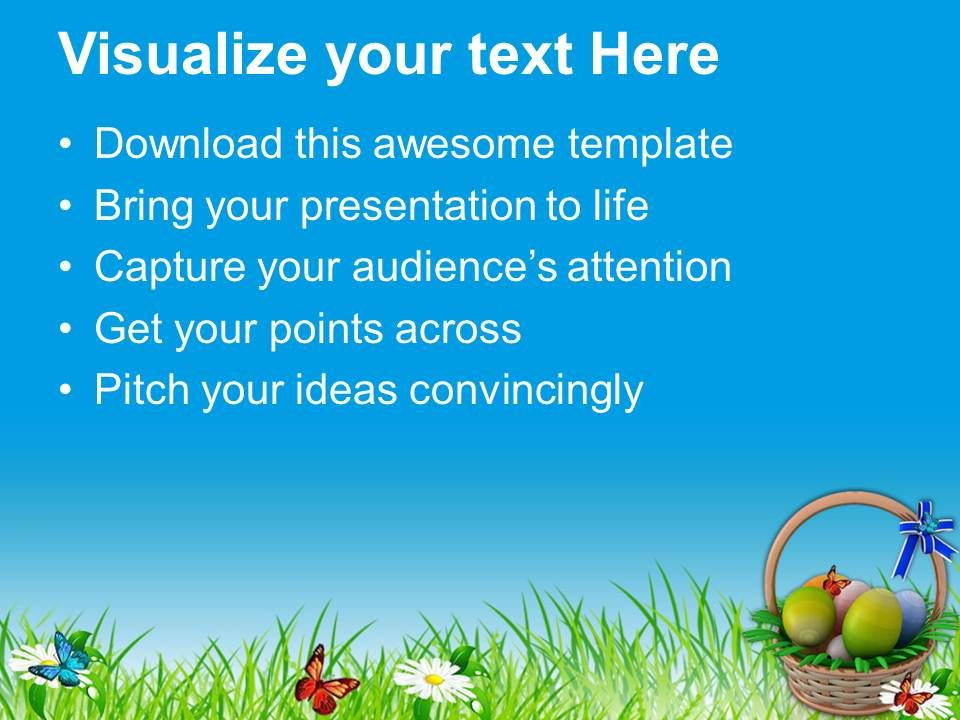 Easter holiday eggs basket to gift powerpoint templates ppt easterholidayeggsbaskettogiftpowerpointtemplatespptbackgroundsforslidesslide03 negle Image collections