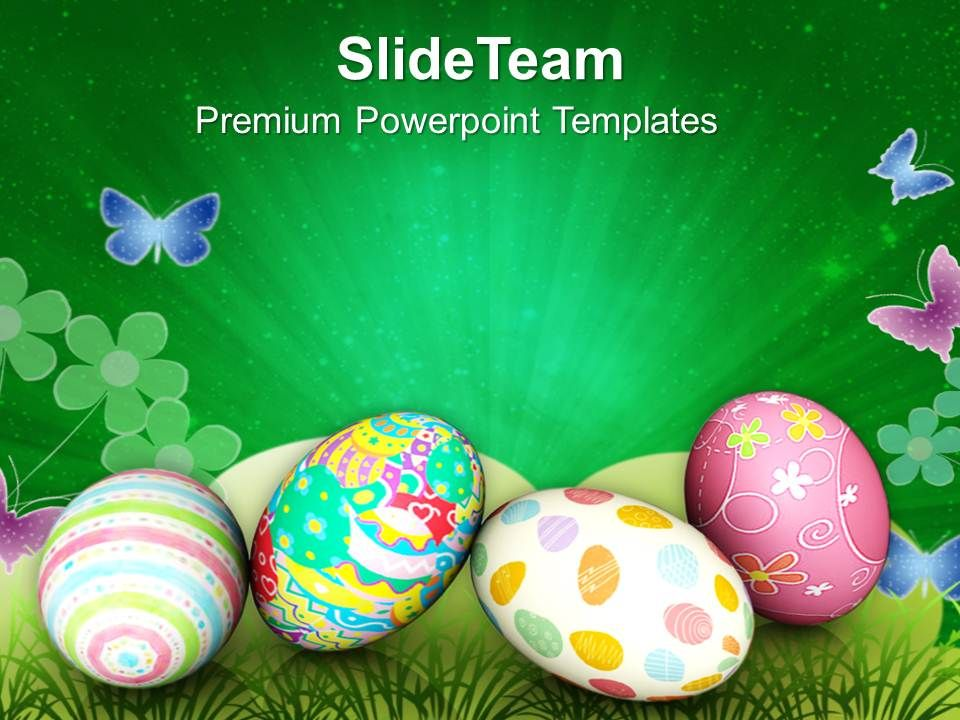 Easter Sunday Festival Of Rejuvenation Life Powerpoint Templates Ppt