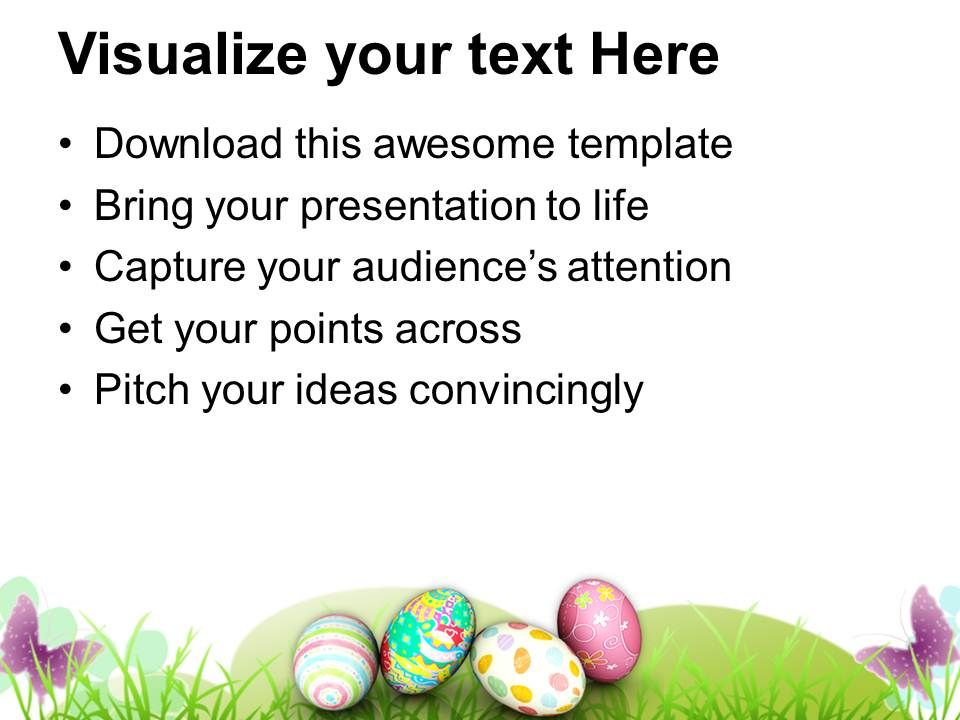 Easter Sunday Festival Of Rejuvenation Life Powerpoint Templates