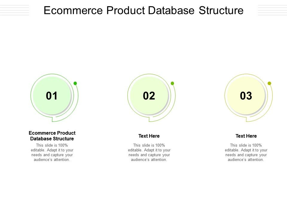 Ecommerce Product Database Structure Ppt Powerpoint Presentation Ideas Templates Cpb