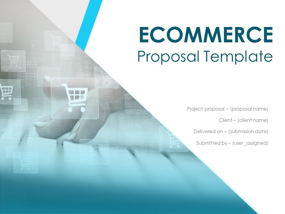 Ecommerce Proposal Template Powerpoint Presentation Slides Presentation Powerpoint Templates Ppt Slide Templates Presentation Slides Design Idea