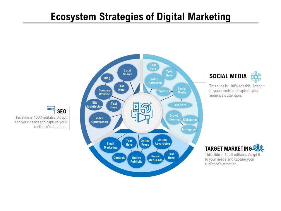 Ecosystem Strategies Of Digital Marketing