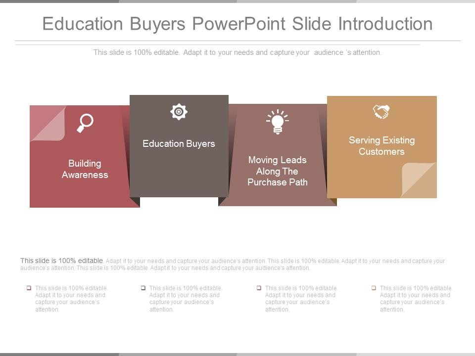 Education Buyers Powerpoint Slide Introduction | PowerPoint