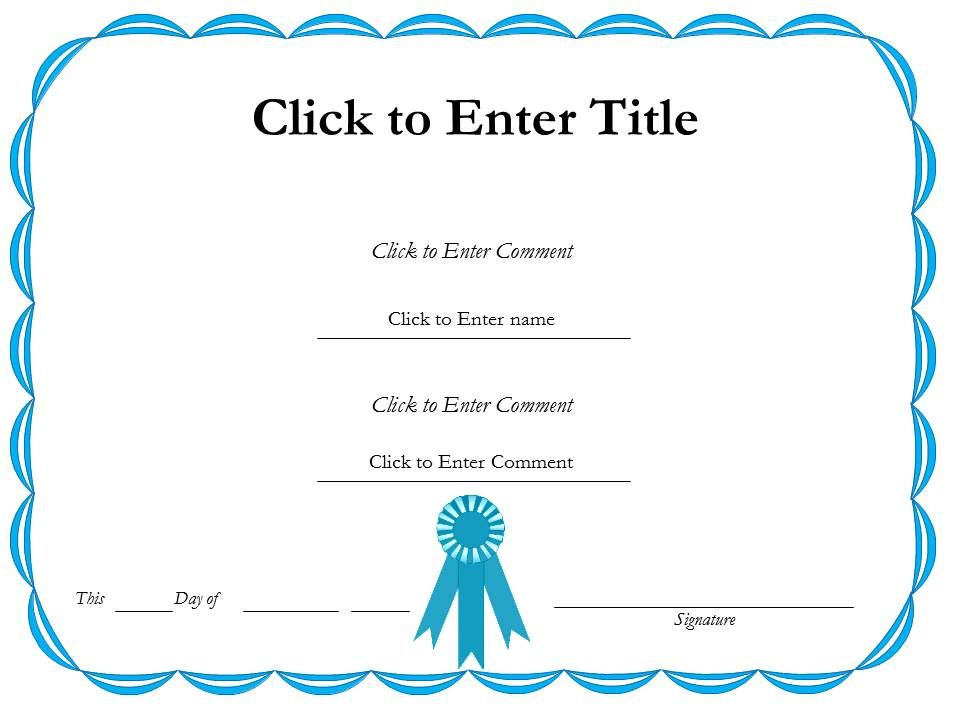 Award Recognition Diploma Certificate Template Of Achievement