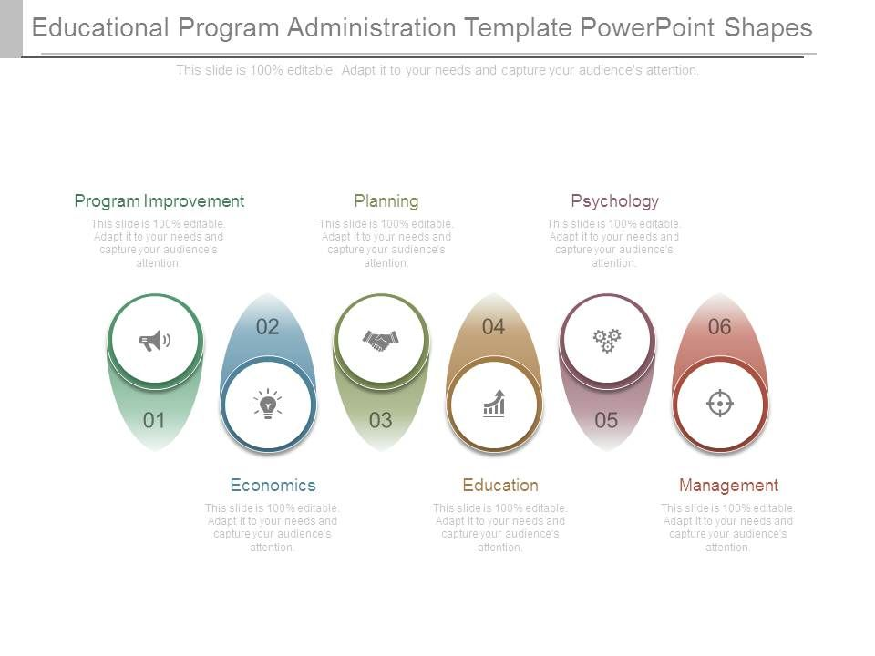 educational_program_administration_template_powerpoint_shapes_Slide01