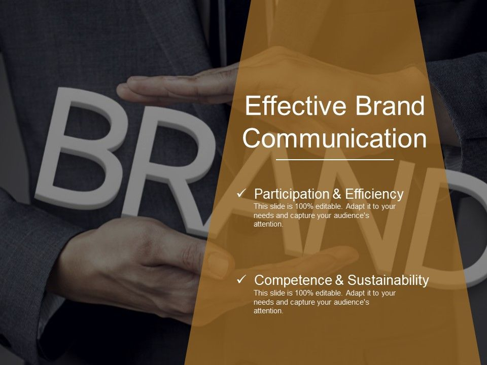 Effective Brand Communication Powerpoint Templates Powerpoint