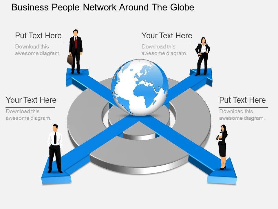 ek_business_people_network_around_the_globe_powerpoint_template_Slide01