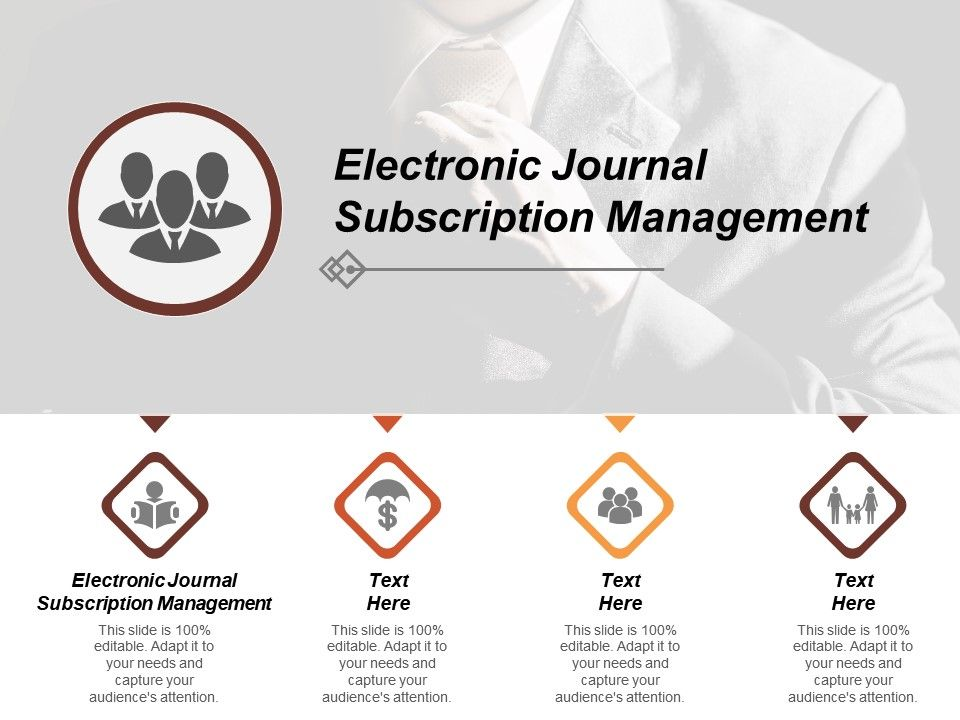 Electronic Journal Subscription Management Ppt Powerpoint