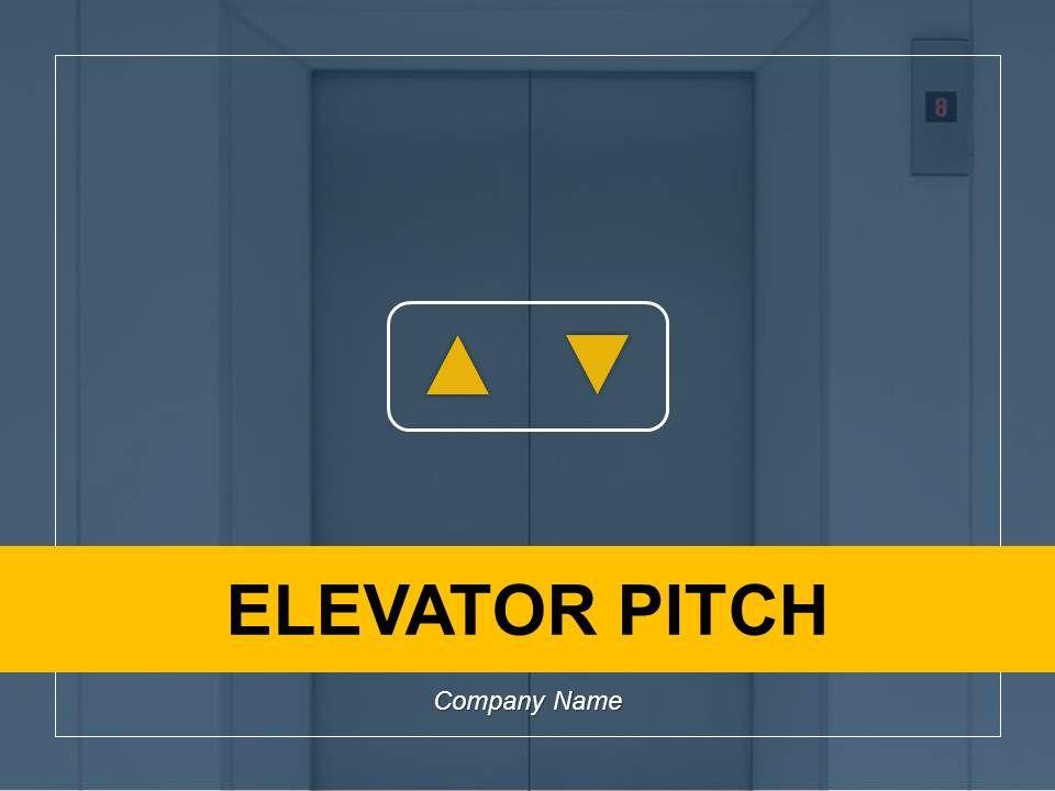 Elevator Pitch Point Presentation Slides Slide01 Slide02