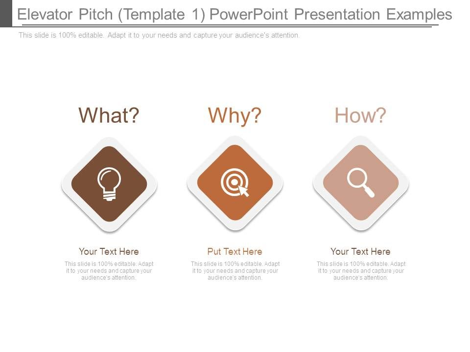 Elevator Pitch Template 1 Powerpoint Presentation Examples ...