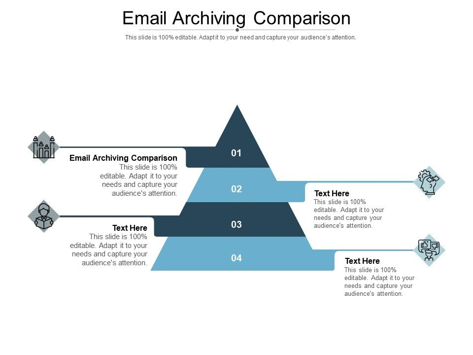 Email Archiving Comparison Ppt Powerpoint Presentation Icon Rules Cpb