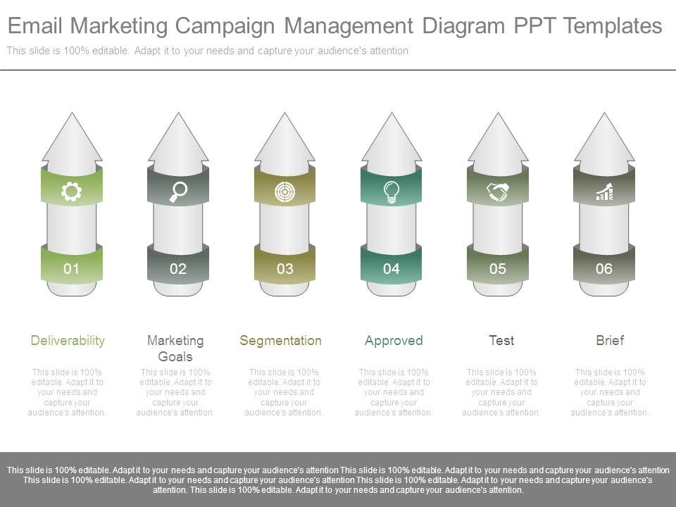 Email marketing solutions ppt powerpoint slides templates.