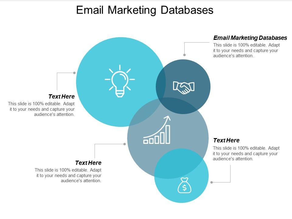 Email Marketing Databases Ppt Powerpoint Presentation