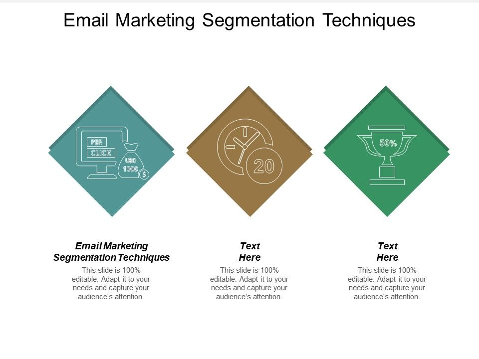 Email Marketing Segmentation Techniques Ppt Powerpoint