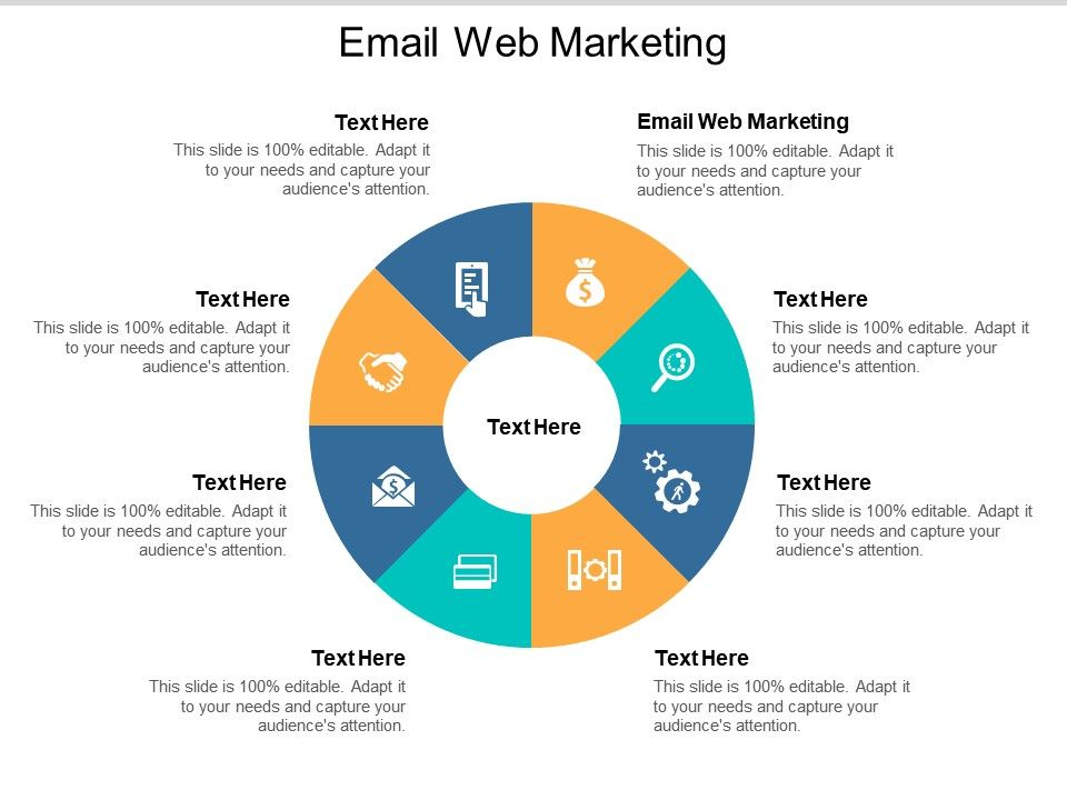 Email Web Marketing Ppt Powerpoint Presentation Inspiration Icon Cpb